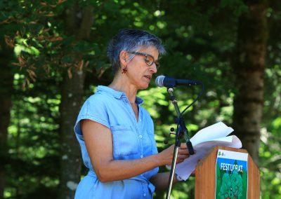 Anne Marion Freiss - présidente de l'association Jorat, une terre à vivre au quotidien