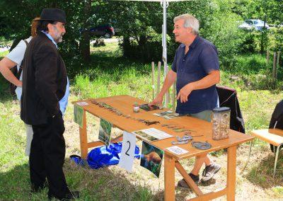 Stand du Service des parcs et domaines de la Ville de Lausanne
